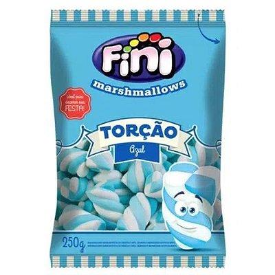 Marsmallow Fini Torção Azul - 250 gramas
