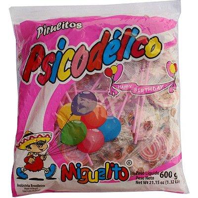 Pirulito Psicodélico Rosa 600 gramas