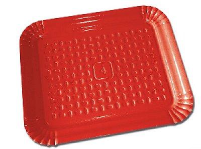 Bandeja Vermelha 30 cm