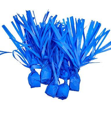 Papel para Bala de Coco Azul - 48 unidades