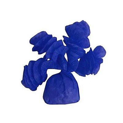 Papel para Bala Azul Rococó - 40 unidades
