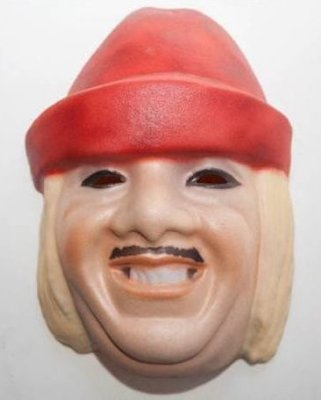 Máscara Palhaço EVA