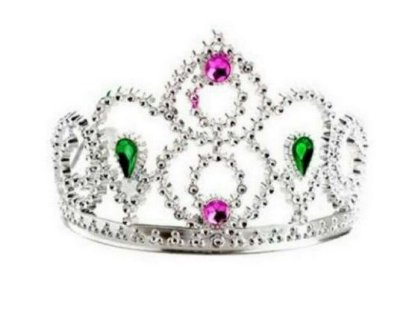 Coroa Princesa Metalizada