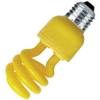 Lâmpada Fluorescente Amarela