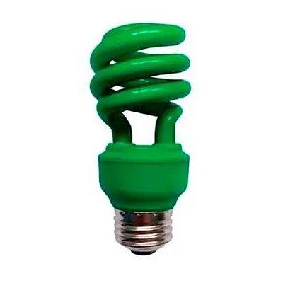 Lâmpada Fluorescente Verde