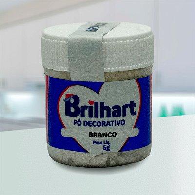 Pó de Brilho Cintilante Brilhart 5g Branco