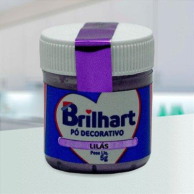 Pó de Brilho Cintilante Brilhart 5g Lilás
