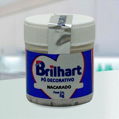 Pó de Brilho Cintilante Brilhart 5g Nacarado
