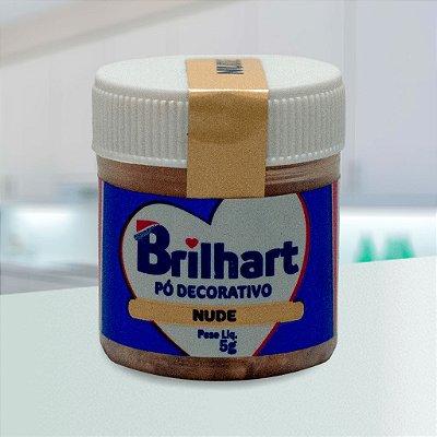 Pó de Brilho Cintilante Brilhart 5g Nude