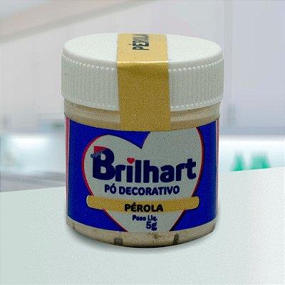 Pó de Brilho Cintilante Brilhart 5g Pérola