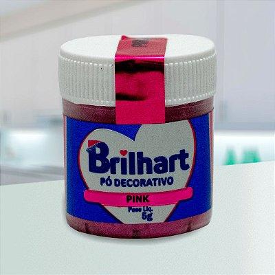 Pó de Brilho Cintilante Brilhart 5g Pink