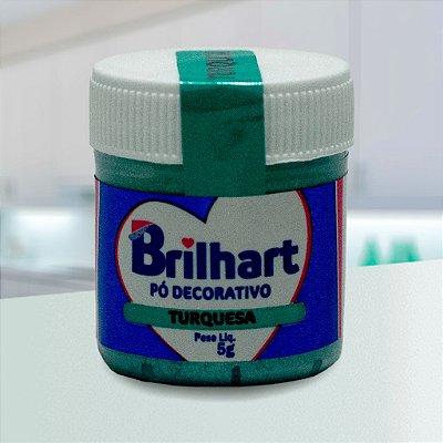 Pó de Brilho Cintilante Brilhart 5g Turquesa