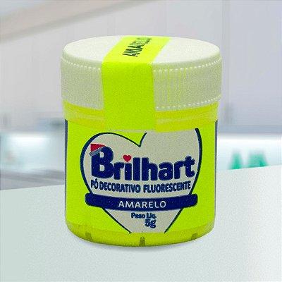 Pó de Brilho Brilhart 5g Neon Amarelo