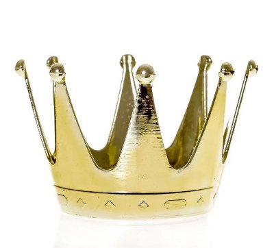 Lembrancinha Coroa Dourada