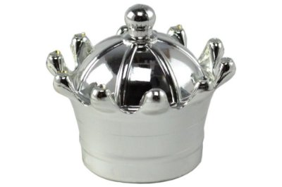 Coroa Metalizada Prata