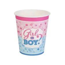 Copo Boy or Girl - 10 unidades