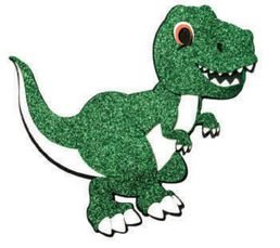 Mini Painel EVA Dino