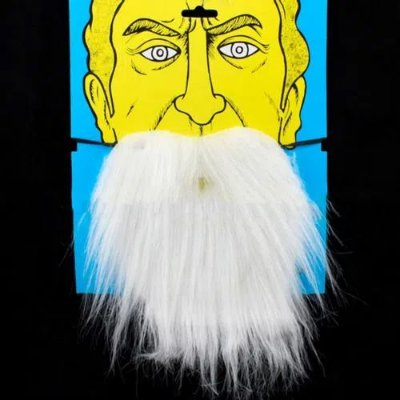 Barba Postiça Branca