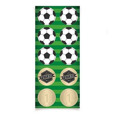 Adesivo Futebol - 3 cartelas