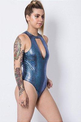 Body Isabela Azul Sereia