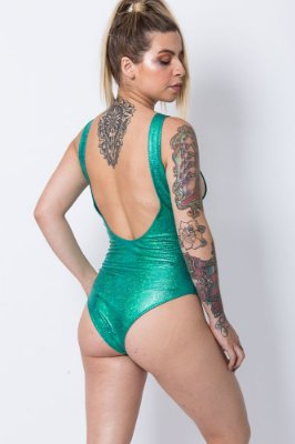 Body Matilda Verde Sereia