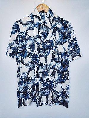 Camisa Estampada Tam M