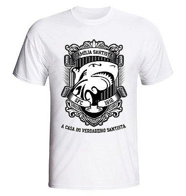 Camiseta Família Santista Tubarão