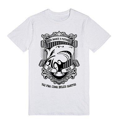 Camiseta Aqui Nasce o Futebol