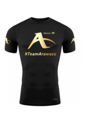 CAMISETA #TEAMARAWAZA GOLD - DRY FIT
