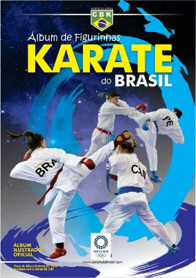 Álbum de Figurinhas Karate do Brasil - CBK