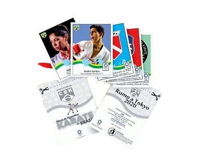 Figurinhas Karate do Brasil - CBK