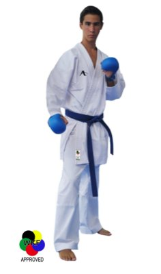 Kimono Lightweight ADULTO - WKF APPROVED (Faixa Branca Inclusa)