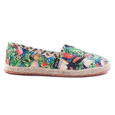 Alpargata Liker Tropical Multicolorida LIV19000