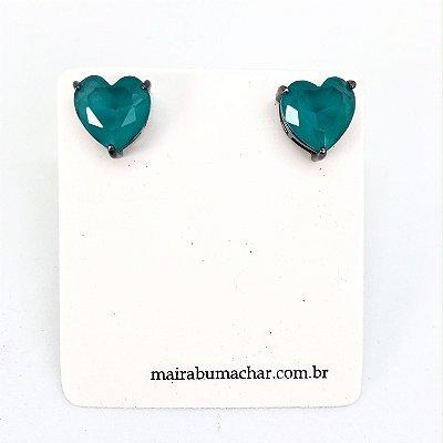 Brinco Coração 1,0 cm