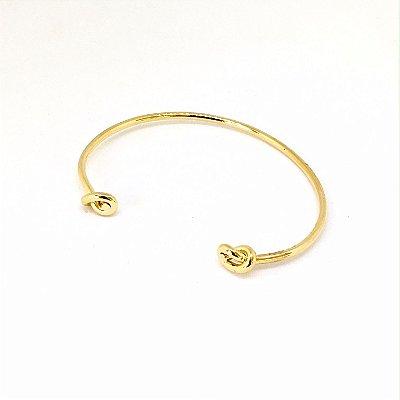 Bracelete Dois Nós Ouro