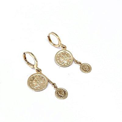 Argola moedas