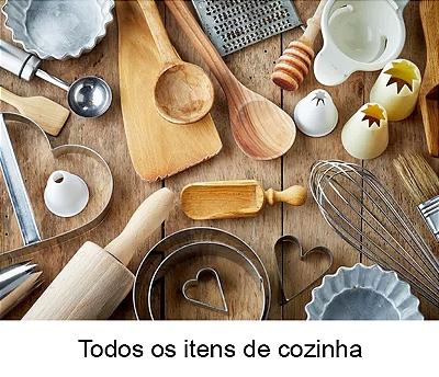 Todos os itens de cozinha