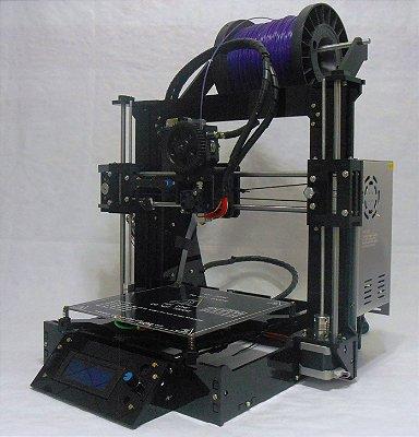 Impressora 3D GRABER-S com LCD - Kit completo para montagem