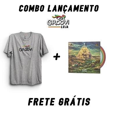 Combo Lançamento - Camiseta + CD (FRETE GRÁTIS)