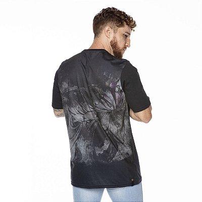 Camiseta Caveira Oriental