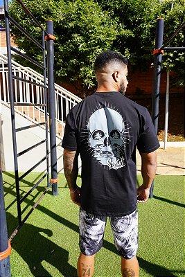 Camiseta Cool Cat Beach Skull