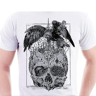Camiseta Cool Cat Corvo