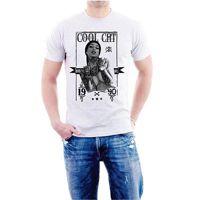 Camiseta Cool Cat Bad Girl