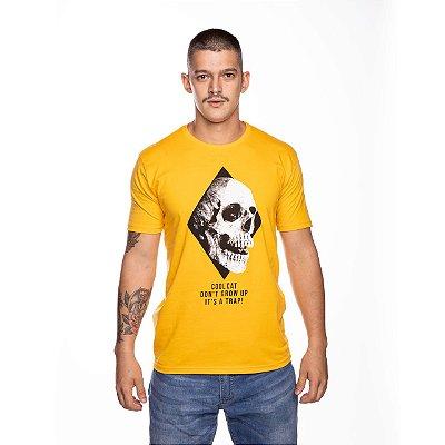 Camiseta Básica Caveira