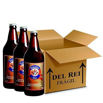 Cerveja Valentina Weiss 660ml - Box Com 12 Unidades