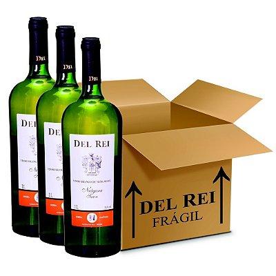 Vinho Del Rei Branco Suave Niagara 1l - Box Com 12 Unidades