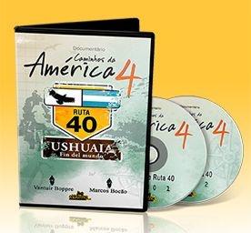 DVD Caminhos da América 4