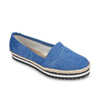 Alpargata Flatform Jeans Petite Jolie