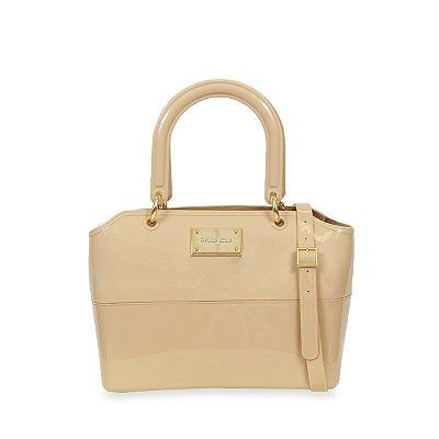 Bolsa Zip Bag Nude Petite Jolie