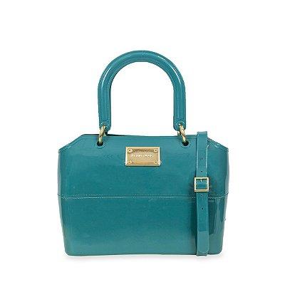 Bolsa Zip Bag Esmeralda Blue Petite Jolie